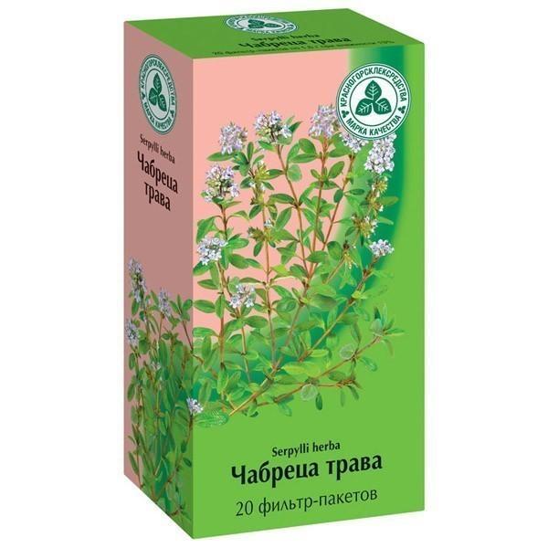 Используется надземная часть растения, собранная во время цветения, в настоях и чайных сборах